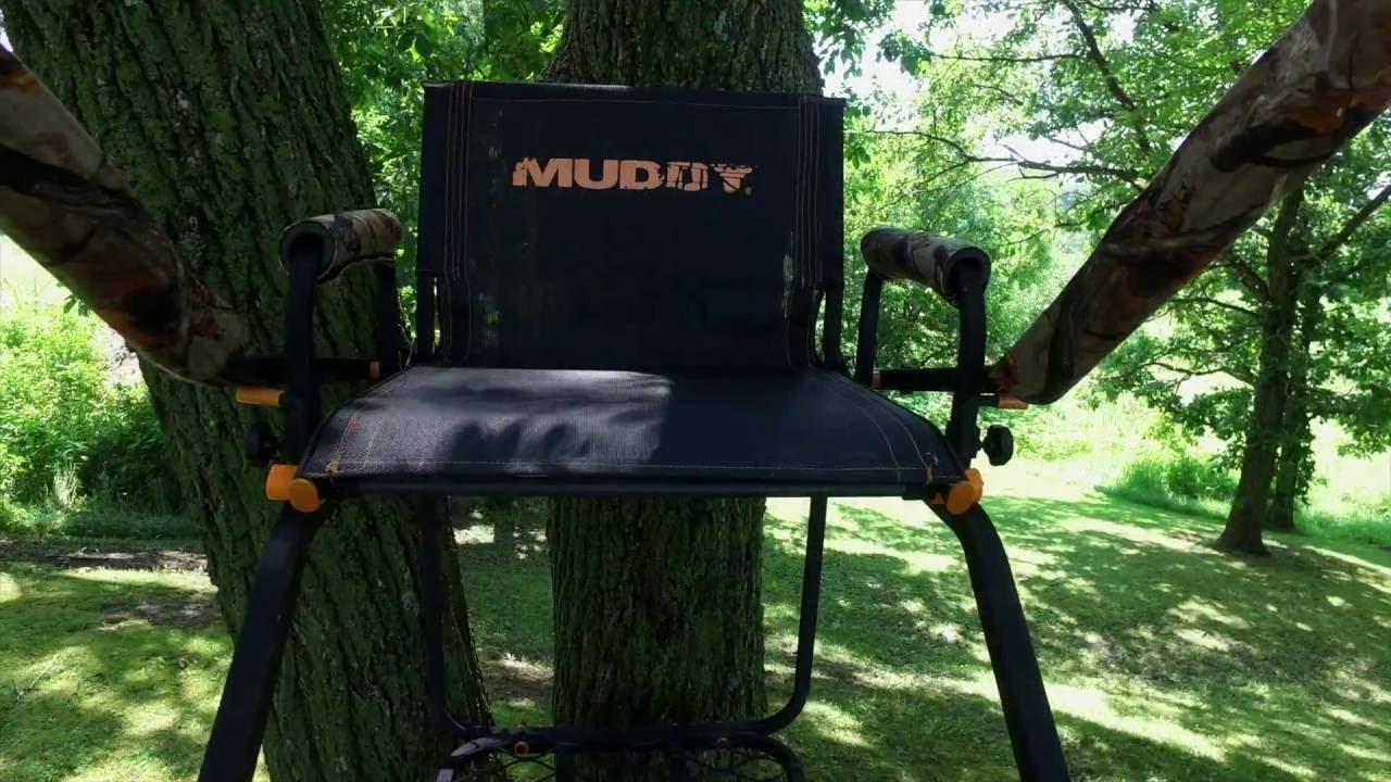 Muddy Huntsman Ladder Stand Muddytv